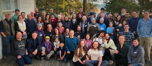 Orcas Food Co-op 2019 Annual Meeting with the theme Community Conversation: Cooperative Economy.