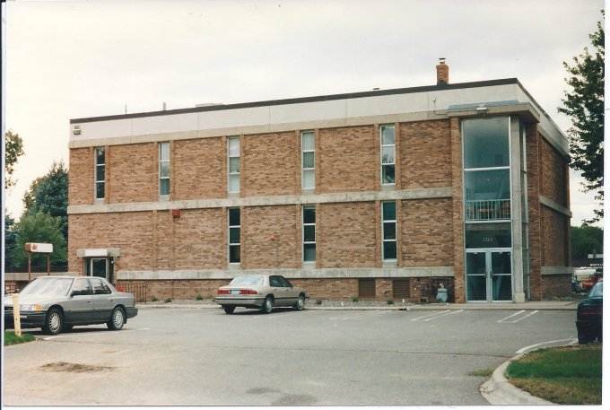 Maplewood municipal building on Frost Avenue