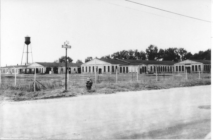 The St,Paul and Duluth railroad shops in Gladstone in 1900