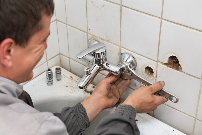 shower valve repair maplewood plumbing