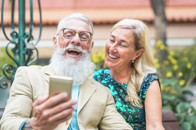 Learn how seniors reap the benefits that come with technology use.
