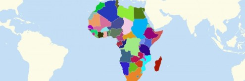 Map of African Countries   Mapline Map of African Countries
