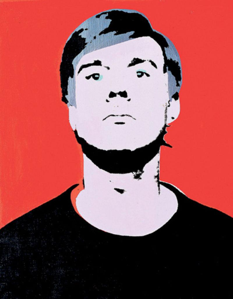 Andy Warhol Self Portraits Map Magazine