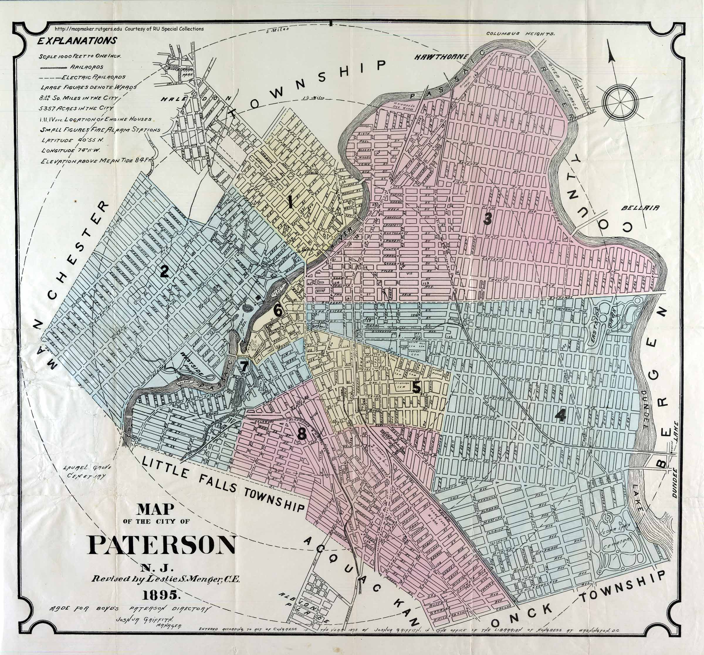 Image result for old paterson map
