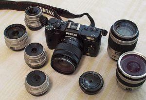 PENTAX Q7 + Complete Lens Set