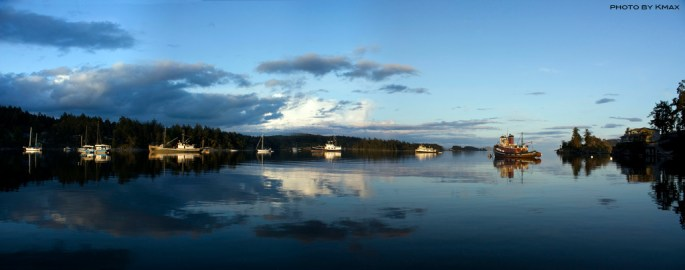 Ganges Harbour, Salt Spring Island
