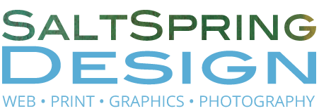 Salt Spring Island Web Design