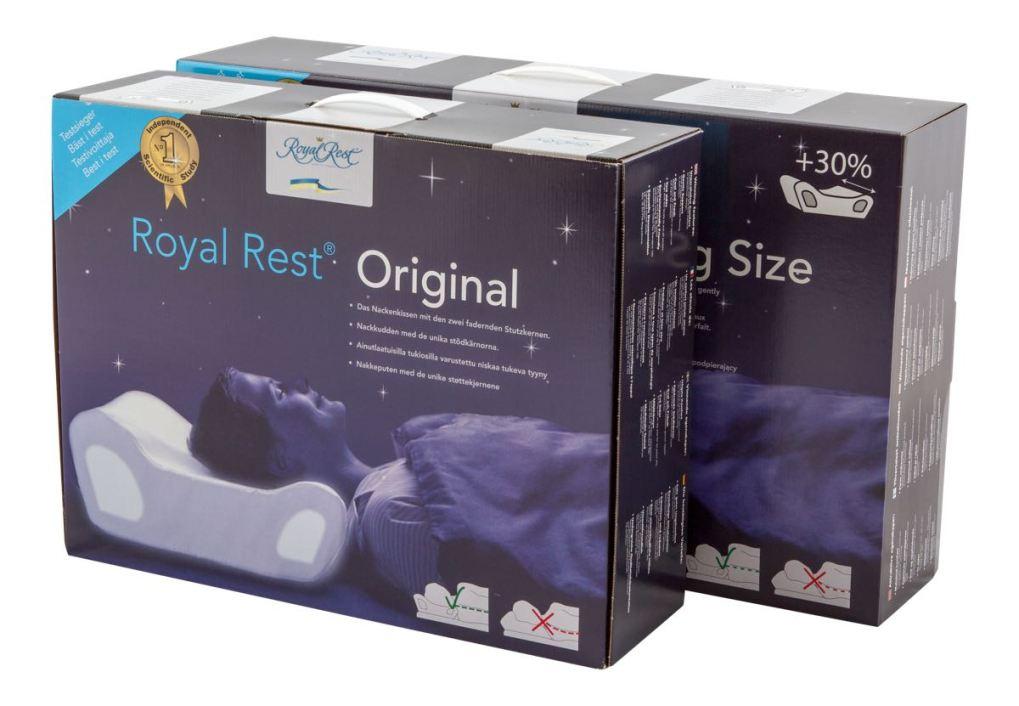 Oreillers suédois Royal rest Original