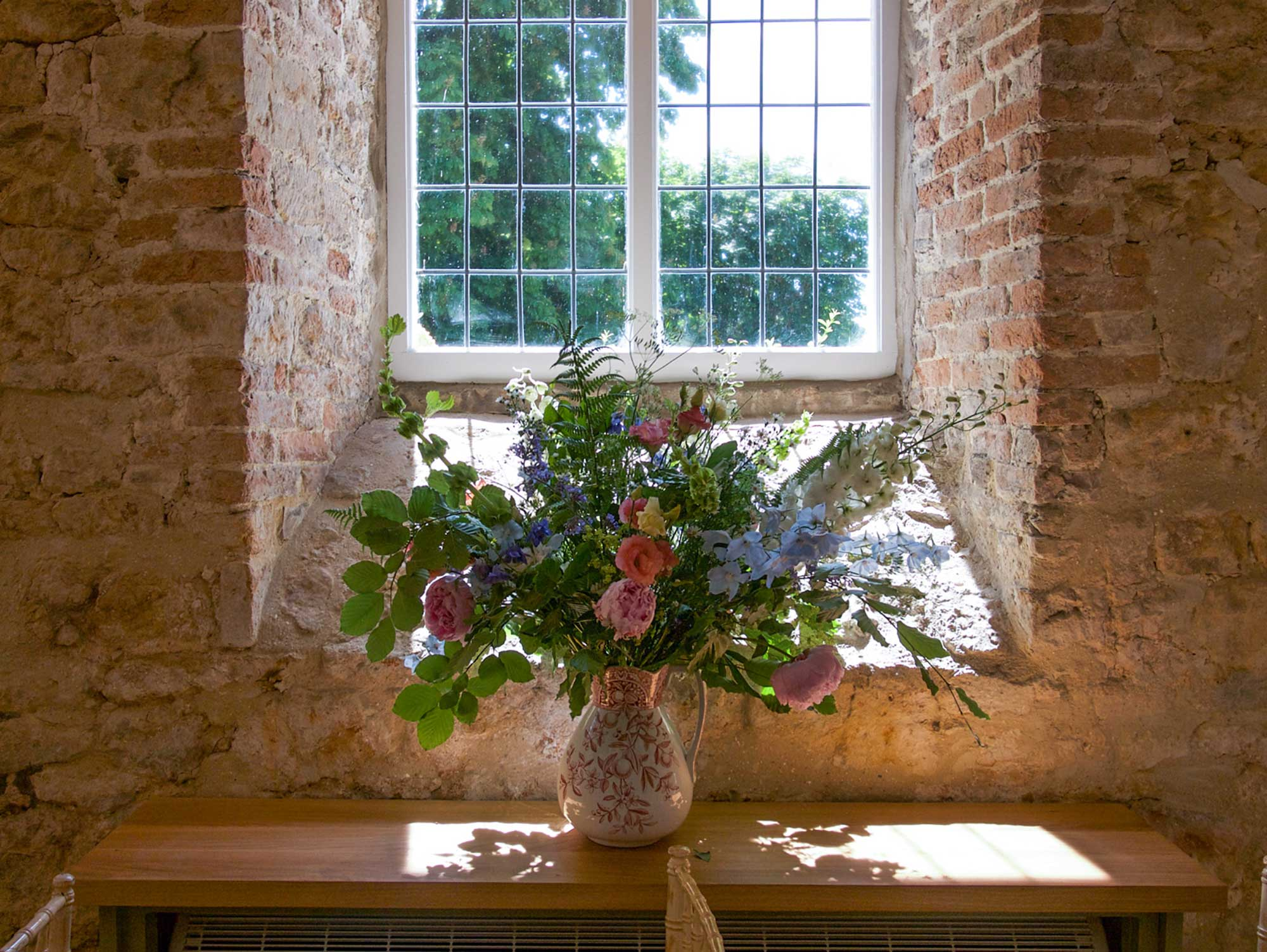 Flowers in The Coach House
