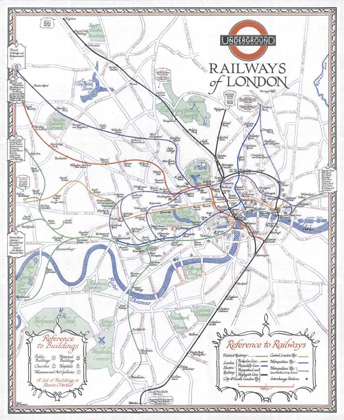 Underground Railways Of London