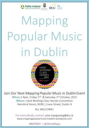 Mapping Popular Music in Dublin @HWCH