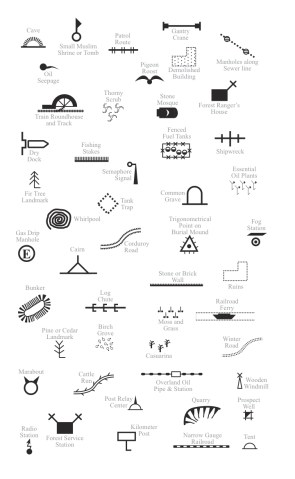 Map symbols path decorations pictures full path decoration attachment php attachmentid stc d standard map symbols for ya free map symbols mapdiva general cultural map symbols included with ortelius orienteering publicscrutiny Images