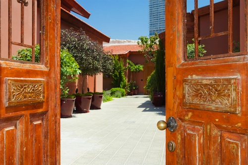 Courtyard in Varsano Suites Tel Aviv