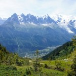 french alps mont blanc
