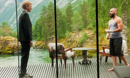 Juvet Hotel Norway: setting of Ex Machina movie