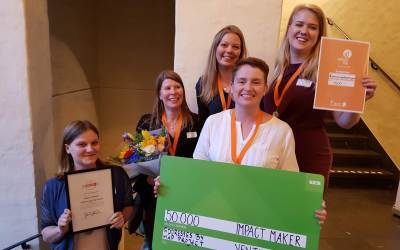 Map Project awarded Impact Maker