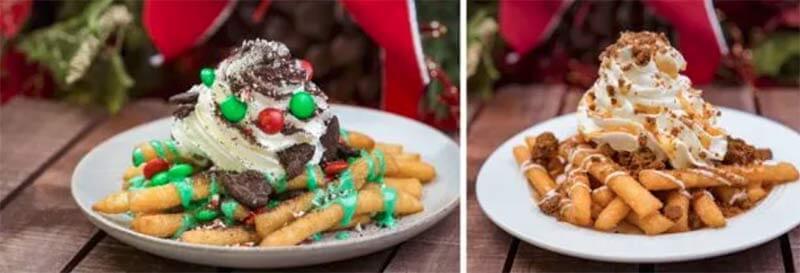 アナハイムディズニーのクリスマス限定の食べ物2018