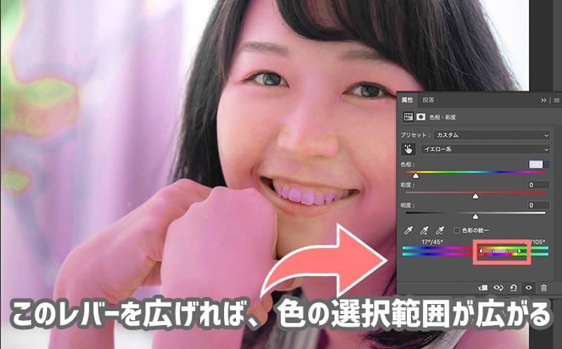 Photoshopで黄ばんだ歯を白くする方法
