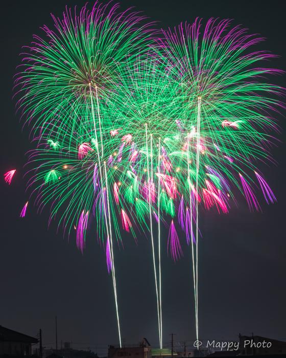 常総きぬ川花火大会 2019 茨城 fireworks おすすめ出張撮影