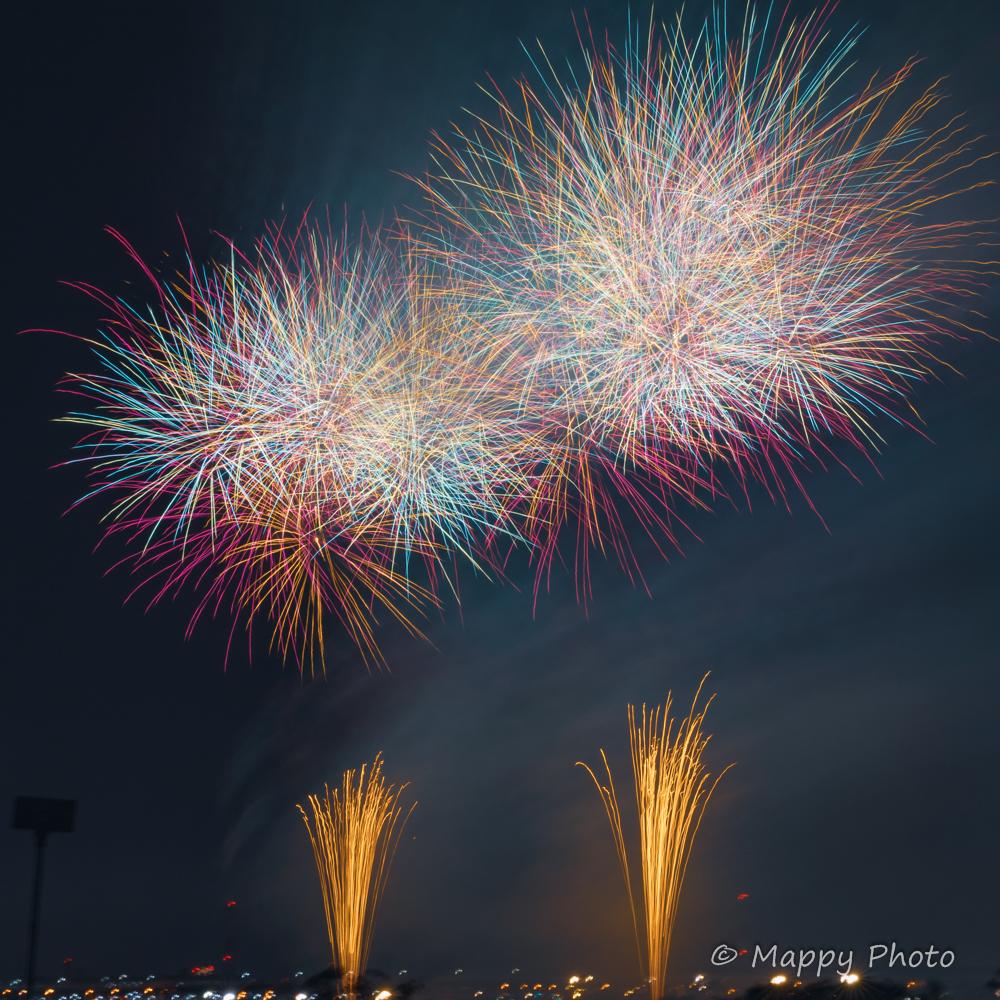 松戸花火大会 fireworks