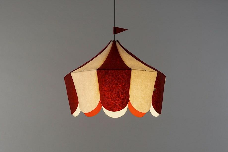 Plafonnier Circus - Buokids - Transformez la chambre de votre enfant en piste de cirque avec ce 'plafonnier chapiteau'.