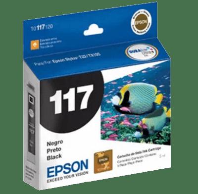 Cartucho Epson 117 Preto Compatível