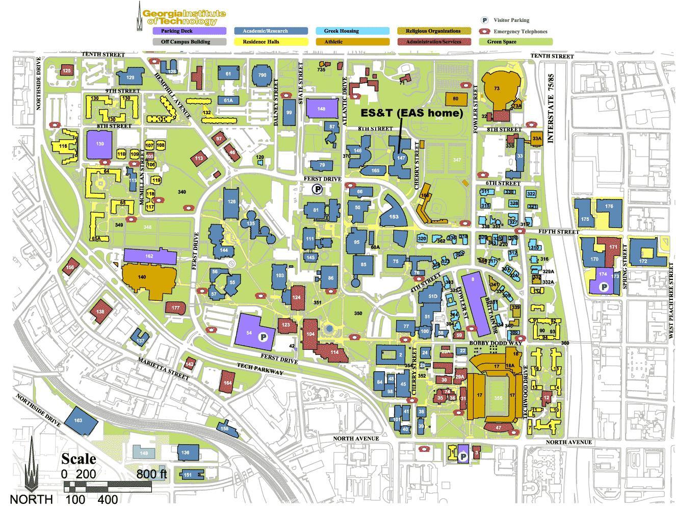 Gatech Map