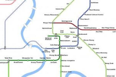 bangkok bts skytrain bangkok thailand bangkok bts map bangkok city ...