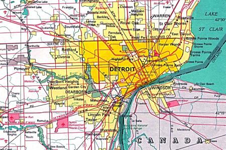 map of detroit monorail people mover » Free Wallpaper for MAPS ...