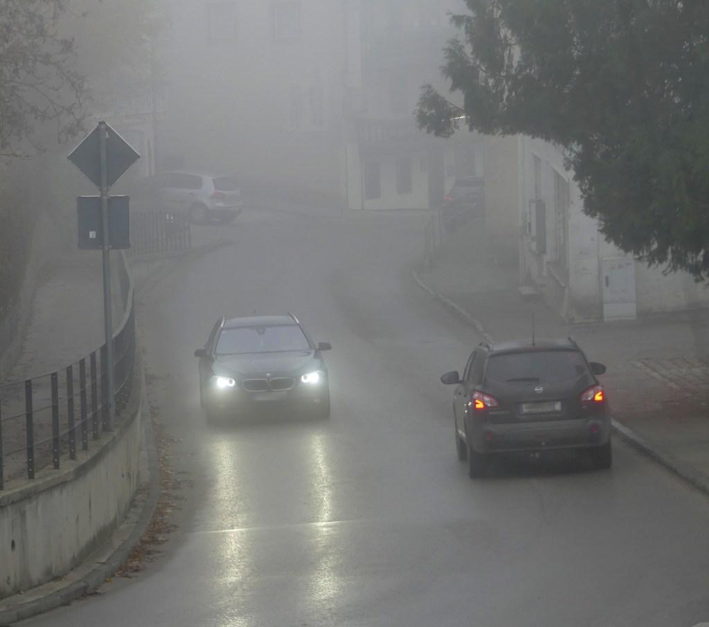 Nebel Straße