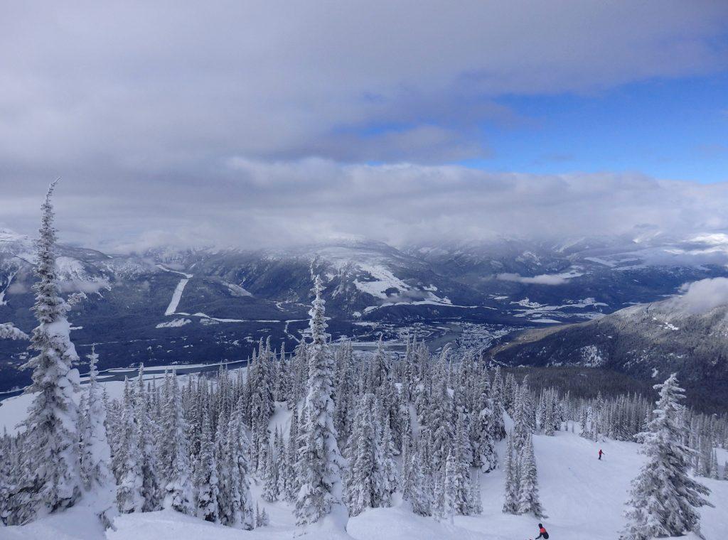 Skigebiet Revelstoke Aussicht