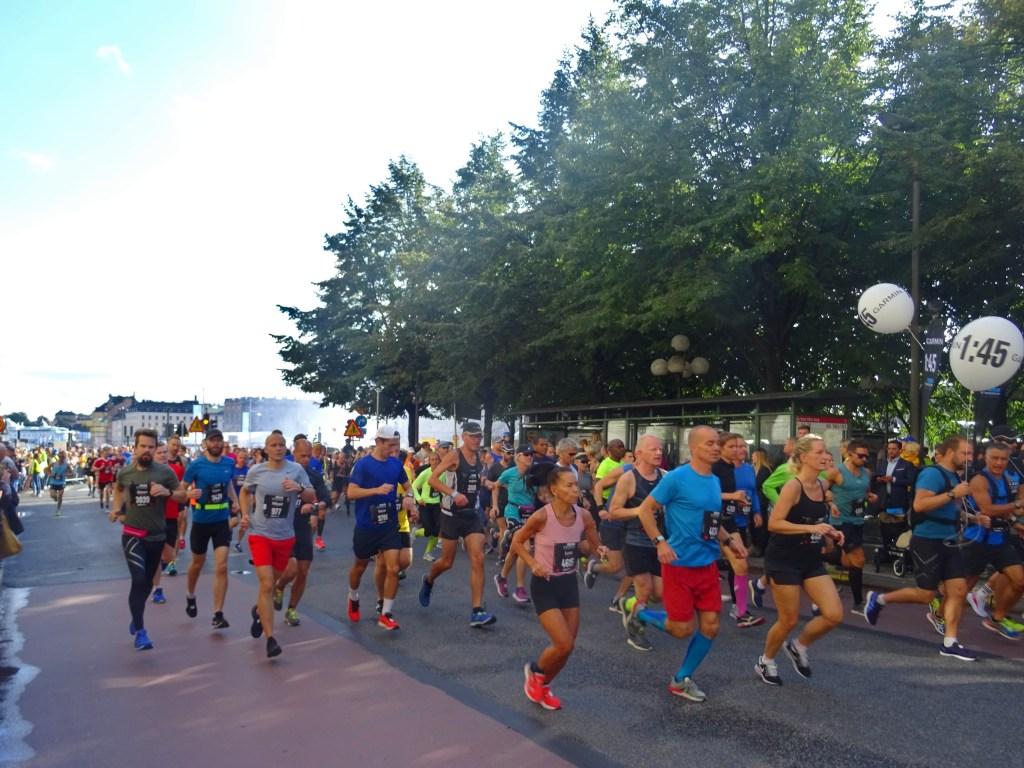Start Stockholm Halbmarathon