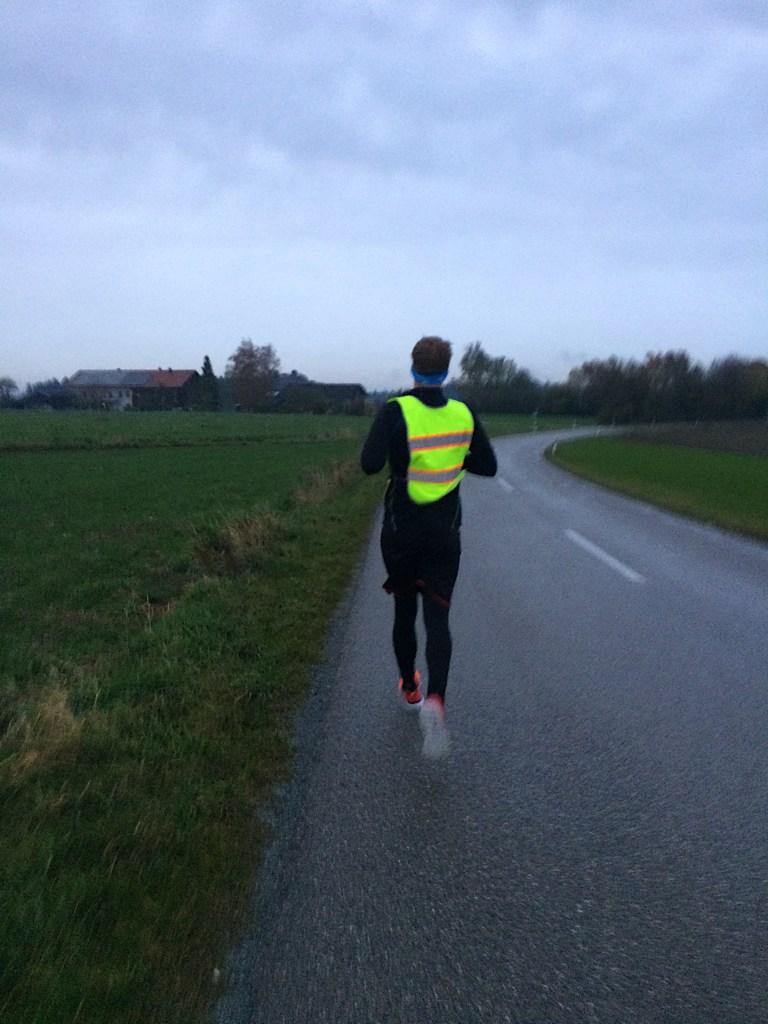 Laufen im Dunkeln November