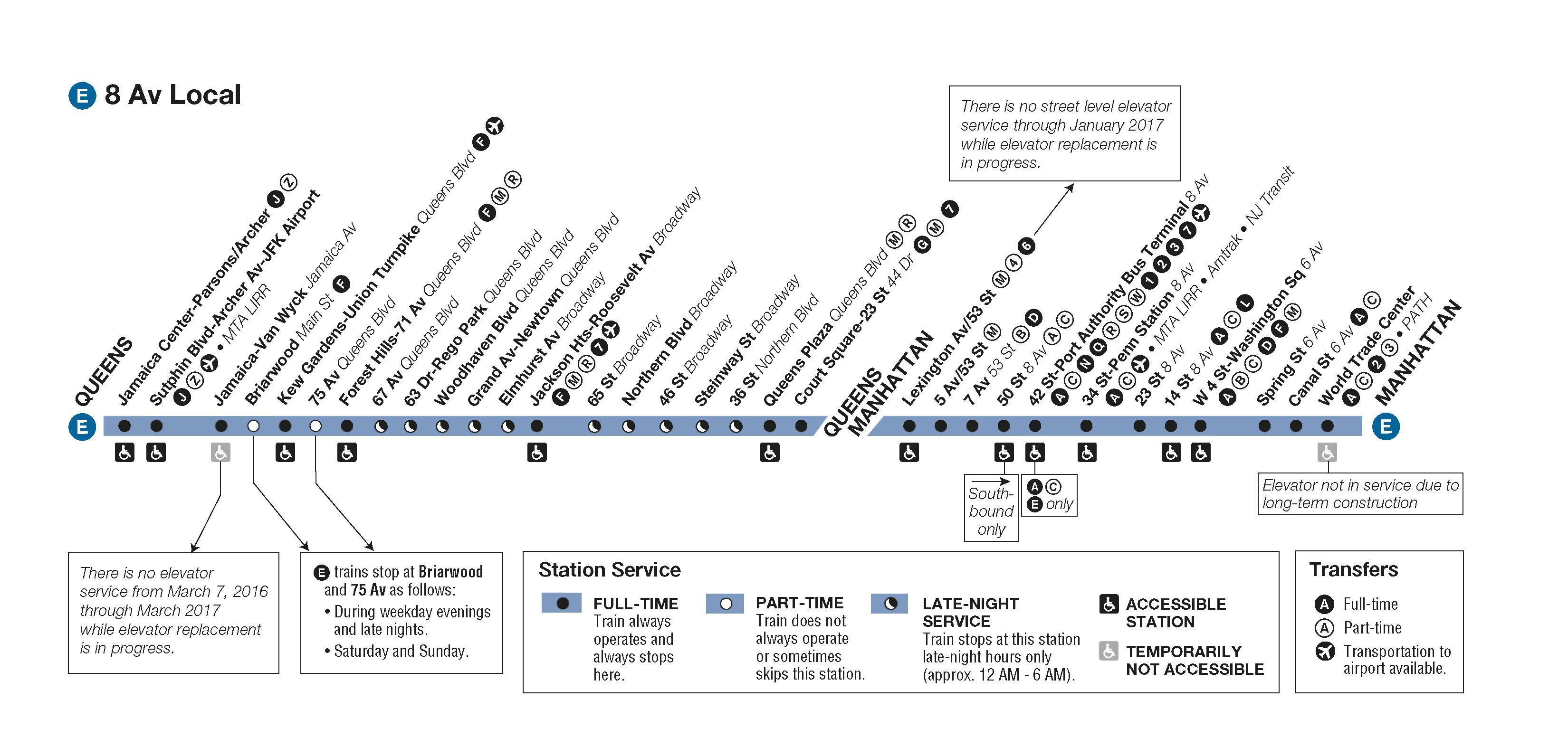 E Map Of Ny