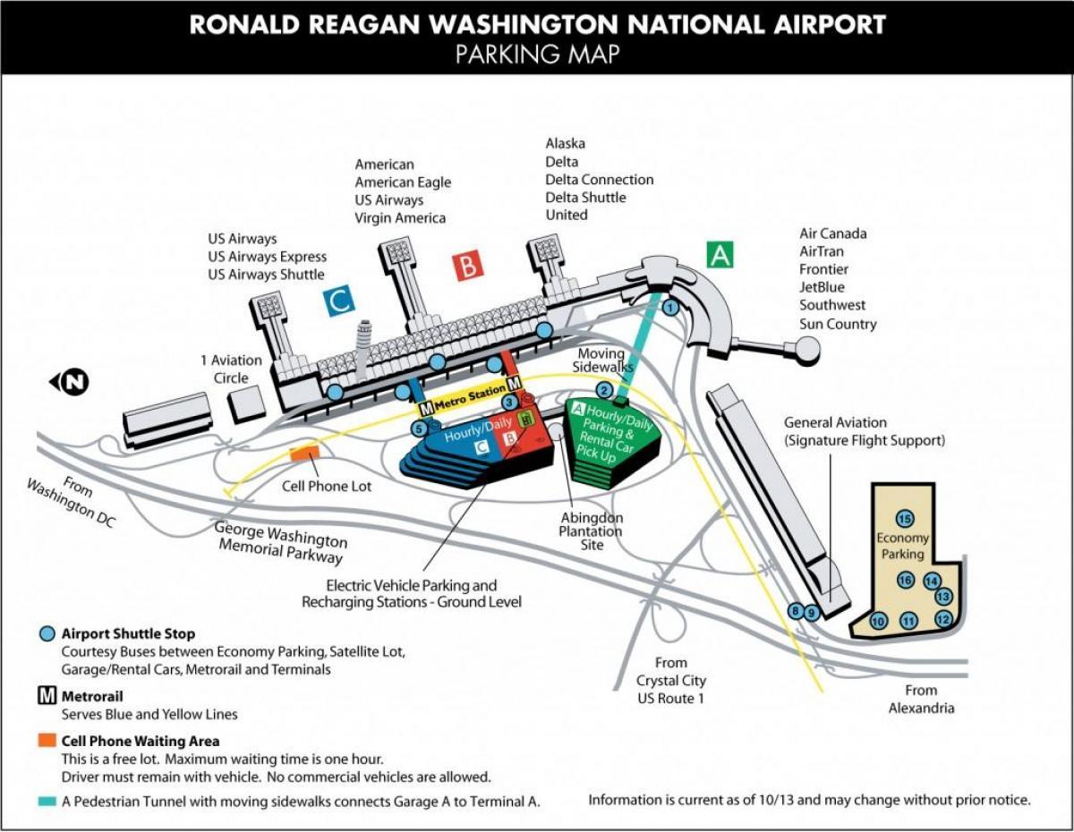 Washington Dc Dca Airport Map Map Of Airports Near Washington Dc District Of Columbia Usa