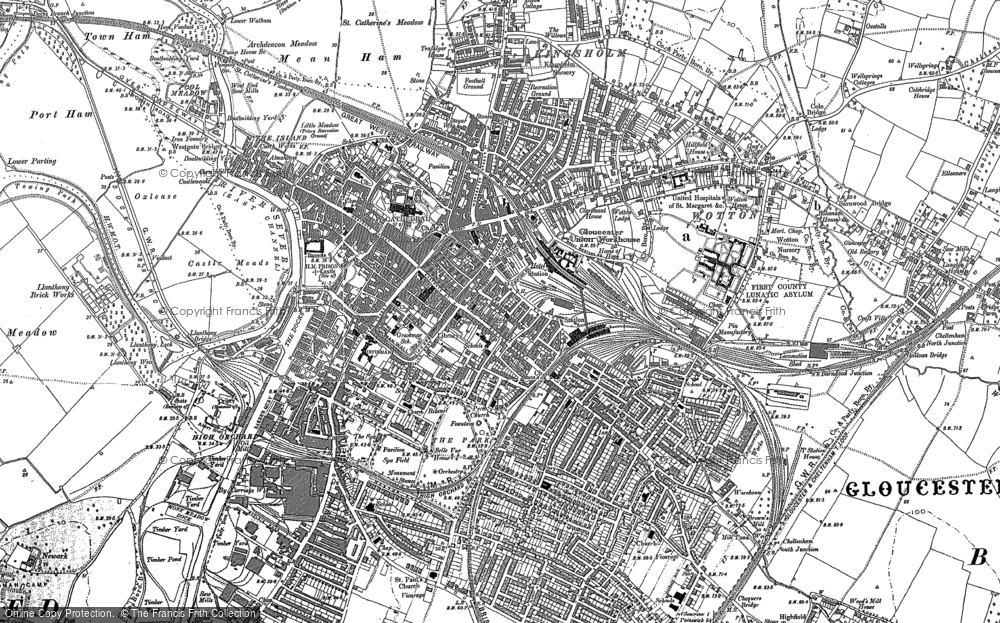 Ma Maps Gloucester Old