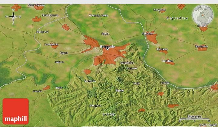 Mapa Kragujevca 3d Superjoden