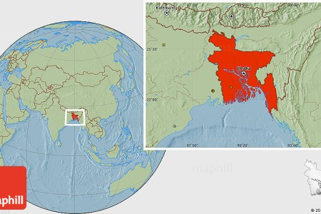 bangladesh location map » Full HD MAPS Locations - Another World ...