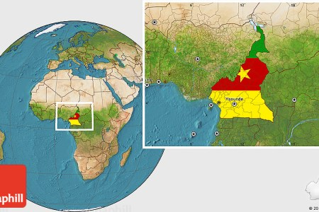cameroon location on the africa map » Full HD MAPS Locations ...