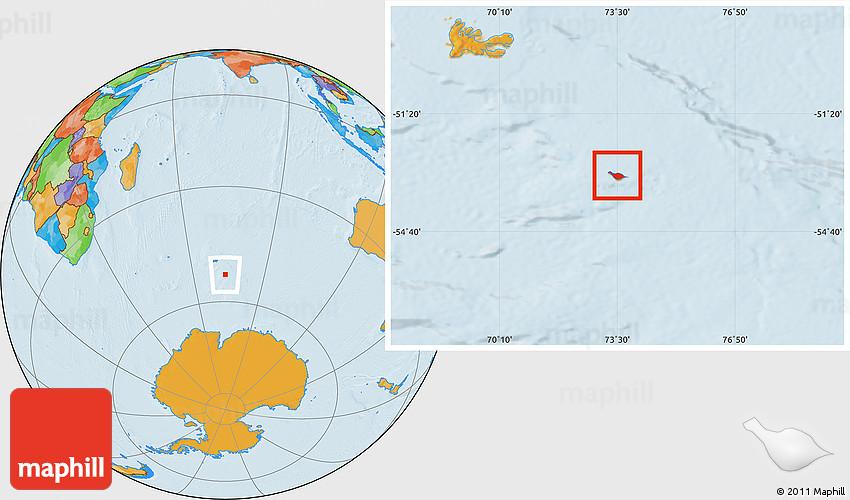 Political Map East Hemisphere