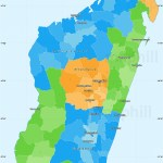 Political Simple Map Of Madagascar