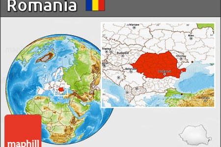 Download Your Maps HERE » romania in world map | World Maps Collection