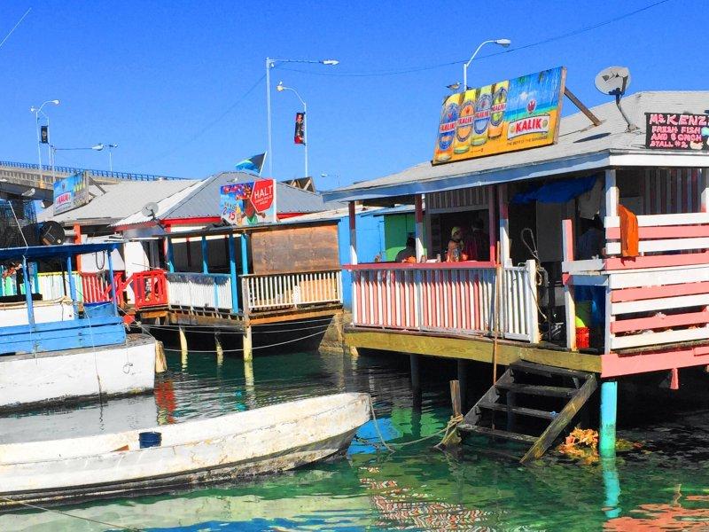 Conch fritter shack Nassau, Bahamas