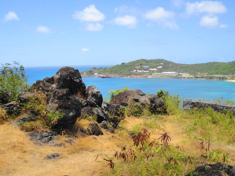 what to do in St Barts - view from the fort