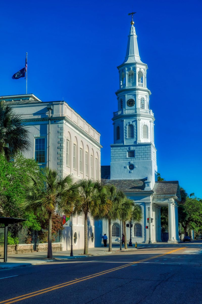 top attractions in Charleston, SC - walking tour downtown