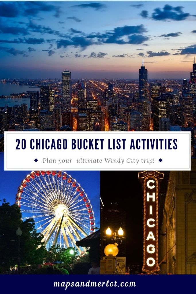 Chicago bucket list, top Chicago tourist attractions, Chicago long weekend, what to do in Chicago, long weekend in Chicago