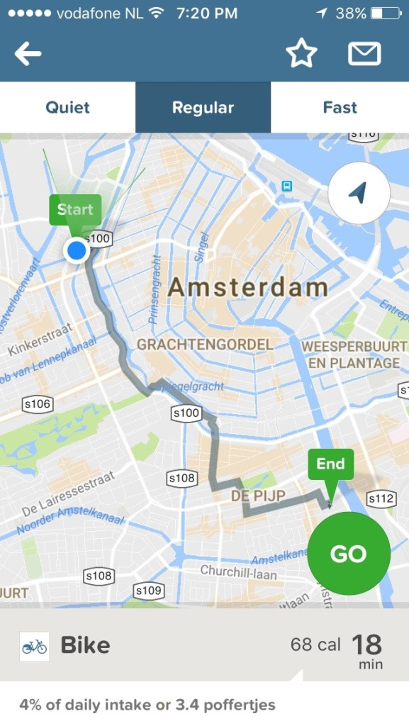 Cycle routes around Amsterdam - Maps Everywhere