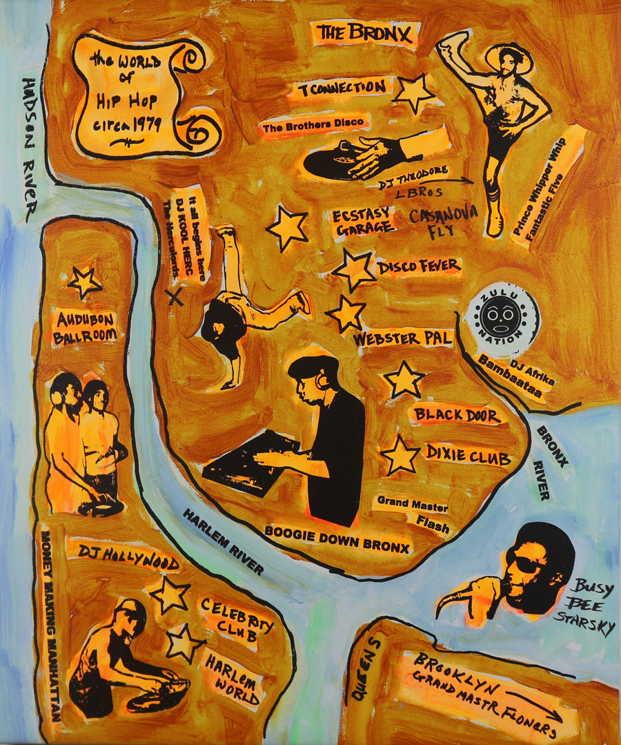 Hip-Hop-Map