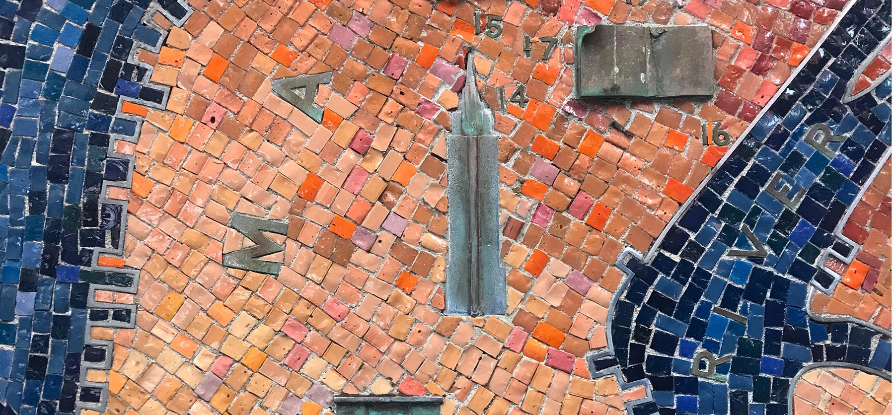 New York mosaic
