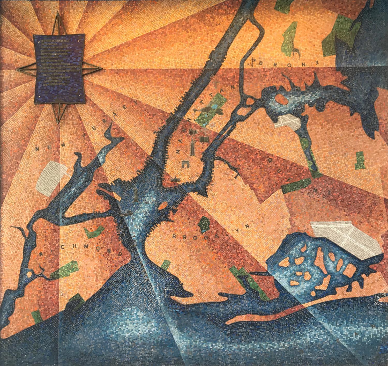 New York City mosaic